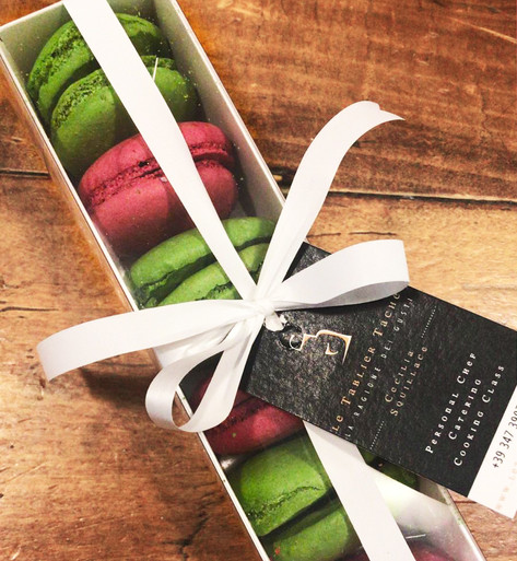 Macarons Verdi e Rosa pronti!