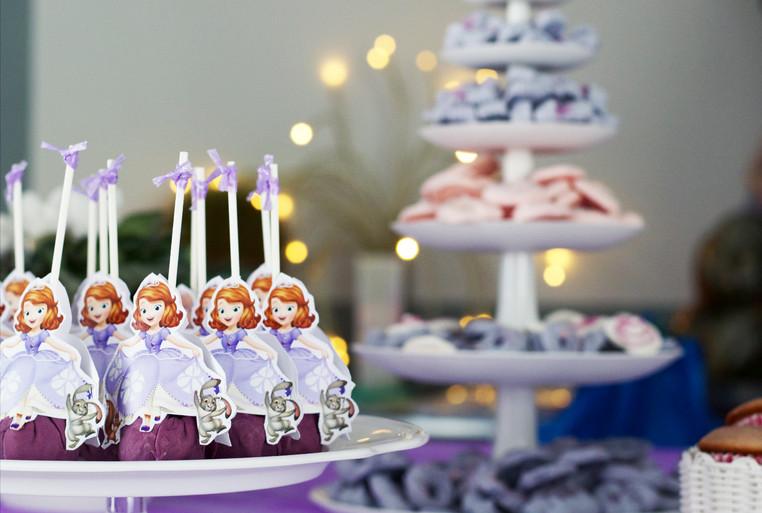 Cakepops - Sofia la Principessa Party