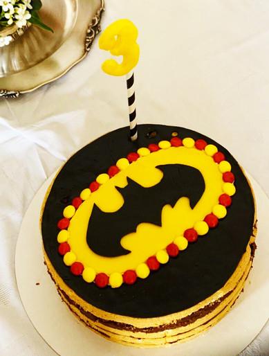 Torta per R. - Batman Party