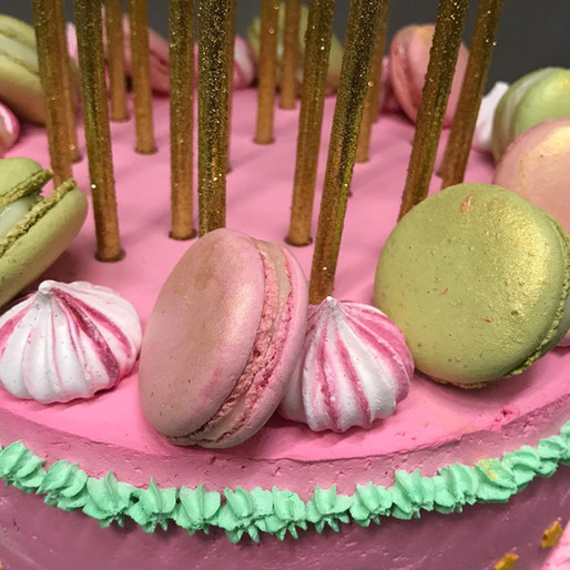 Macarons sulla Torta di G.