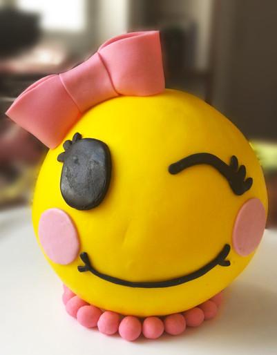 Decoro per la Torta di A. - Emoji Party