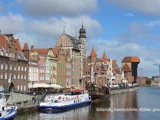 Gdansk - en av Polens vakreste byer
