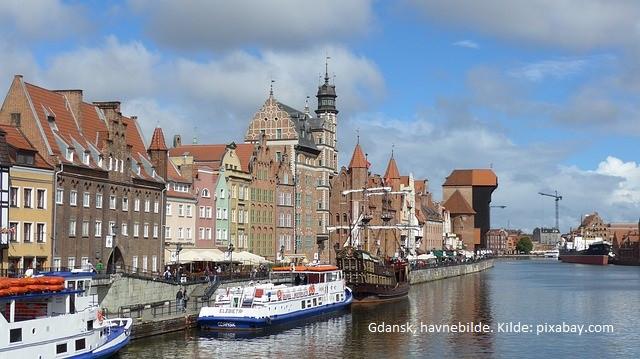 Gdansk havn med Metlawa