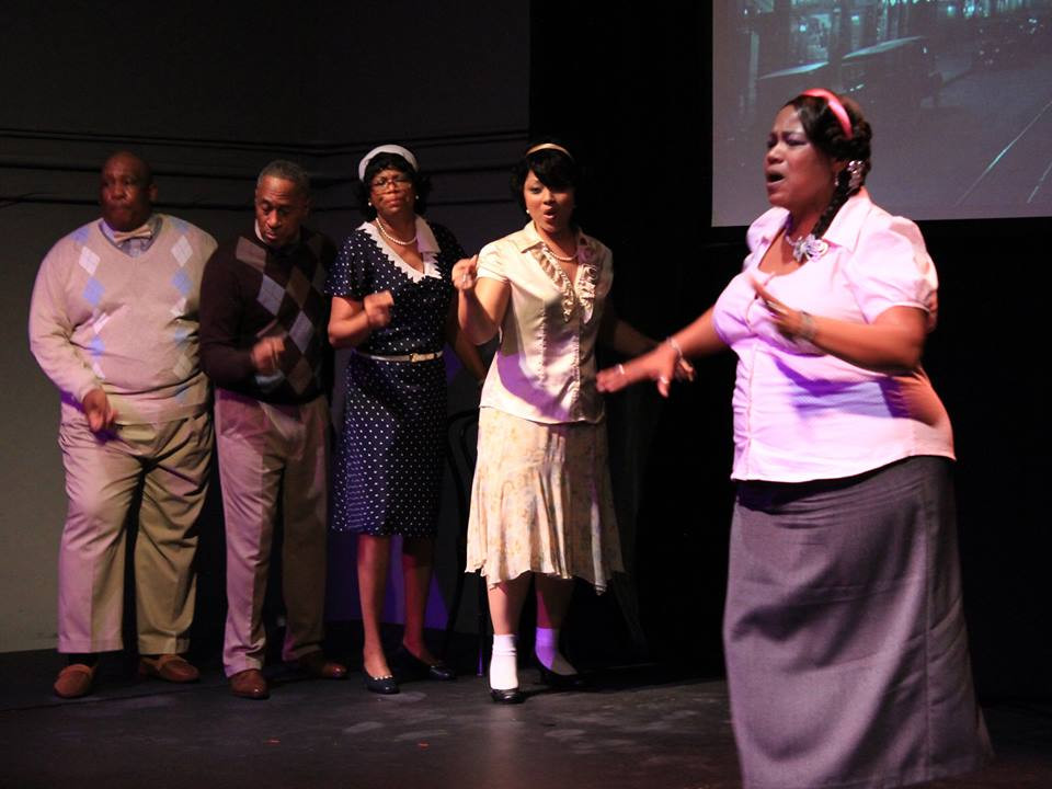"The SOURCE Theatre Company presents ""The Five Points/Wrapped Around My Soul"""