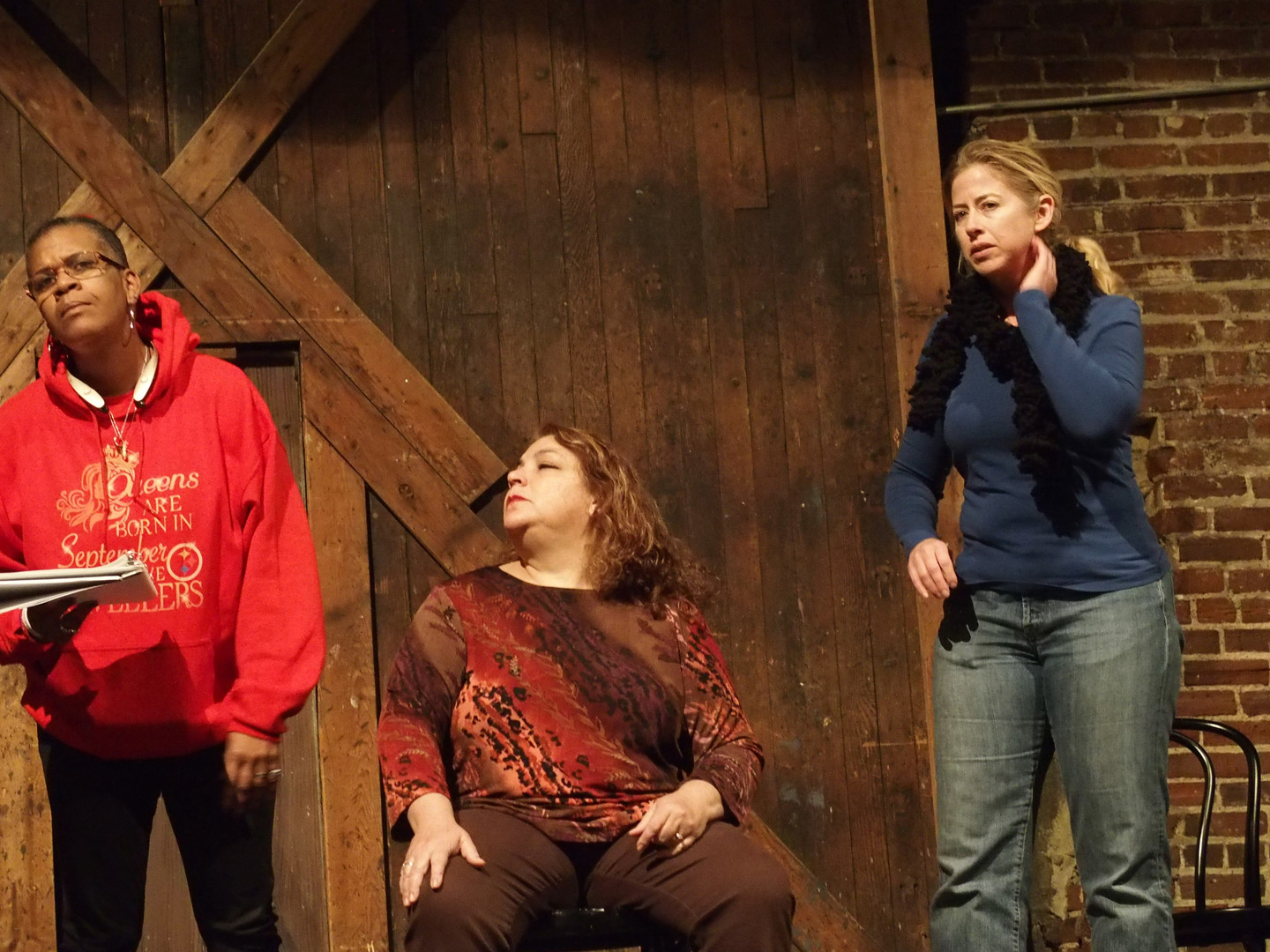 "The SOURCE Theatre Company presents ""Crying Wolf: Stories of the Lupus Warriors"""