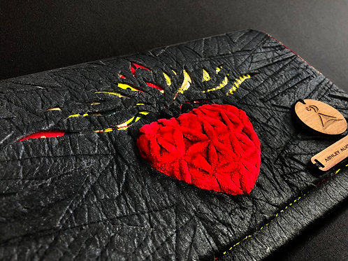 FOGO   Mini Heart of Fire Clutch - SOLD OUT