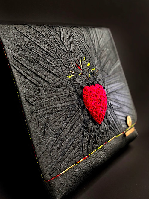 FOGO |  Oversized Heart of Fire Clutch - SOLD OUT