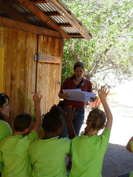 'Grow, grow, grow' youth education program at the Tucson Botanical Gardens.