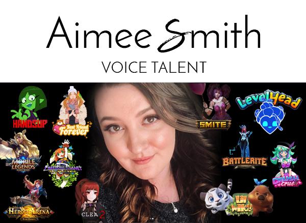 Aimee Smith, Voice Talent