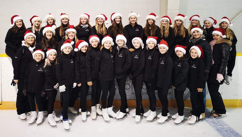 Happy Holidays from our 2019/2020 Junior & Senior teams.