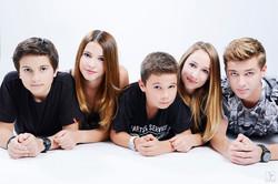Shooting Studio Famille à plusieurs
