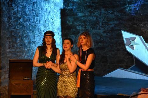 Charmian, Cleopatra and Iras