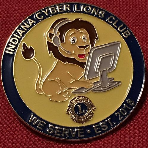 Cyber Lions Club Pin