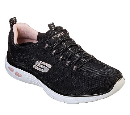 Skechers Relaxed Fit: Empire D'Lux - Spotted Black/Rose Gold