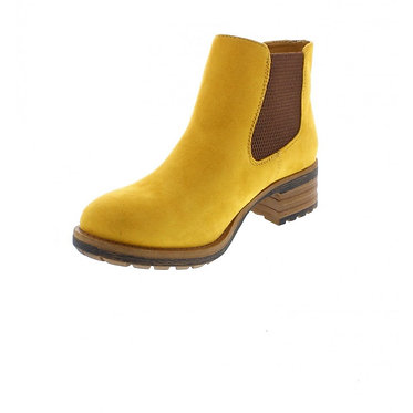 Rieker 96884-68 Ladies Yellow Pull on Boots