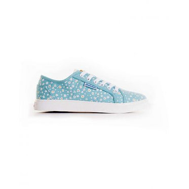 Brakeburn Ditsy Daisy Tennis Shoes Blue