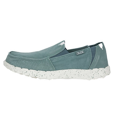 HEY DUDE Farty Washed Canvas Teal