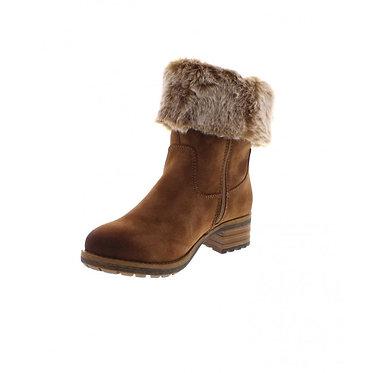 Rieker 96854 Ladies Brown Zip-up Boots