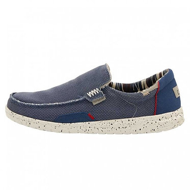 HEY DUDE Mikka Hawk Stretch Knit Blue