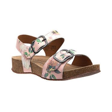 Josef Seibel Floral Leather Sandal Tonga 62