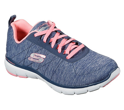 Skechers Flex Appeal 3.0 - Insiders Navy/Coral