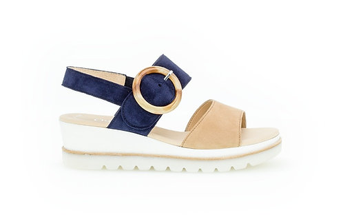 Gabor Yeo Wedge Mid Heel Sandals 64.645
