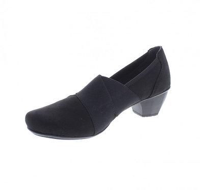 Rieker 41772-00 Ladies Black Slip-on Shoe