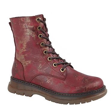 Cipriata Zip & Lace Ankle Boots L310