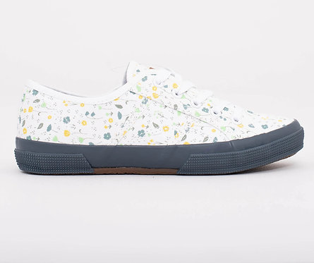 Brakeburn Ditsy Laceip Trainers White