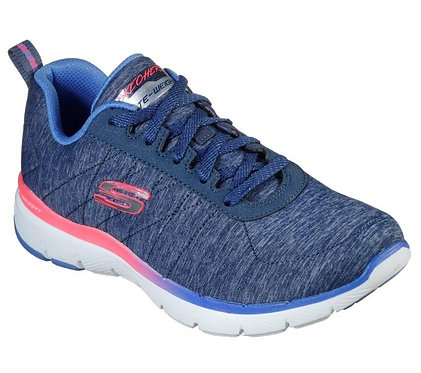 Skechers Flex Appeal 3.0 - Fan Craze Navy Coral