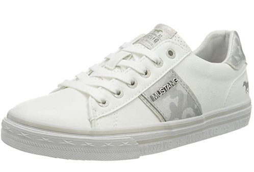 Mustang 1354-306-121 White-Silver