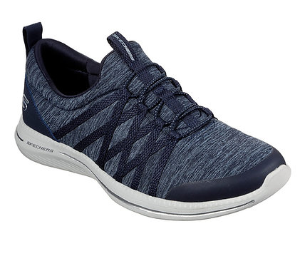Skechers City Pro Slip On Shoes Navy