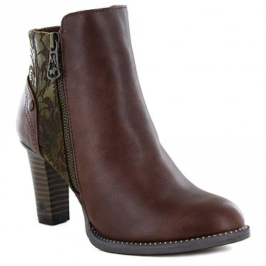 Mustang Ankle Boots Kastanie
