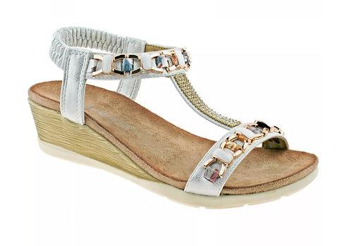 Cipriata Brizia Jeweled Sandals L489