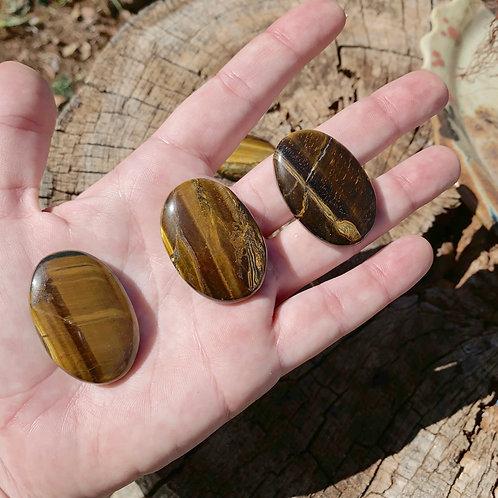 Palm Stone - Tiger Eye