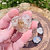 Thumbnail: Small Clear Quartz Orgonite Heart