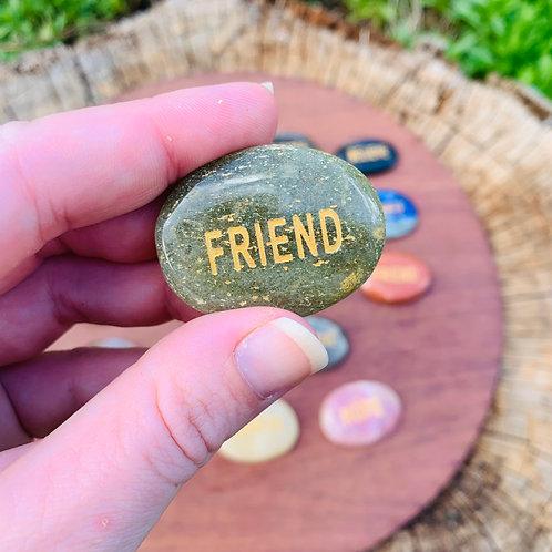 Affirmation Stone - Friend