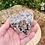 Thumbnail: Large Rainbow Moonstone Orgonite Heart