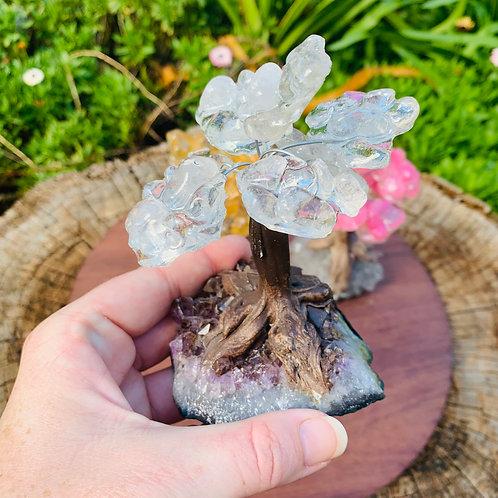 Clear Quartz Bonsai Tree