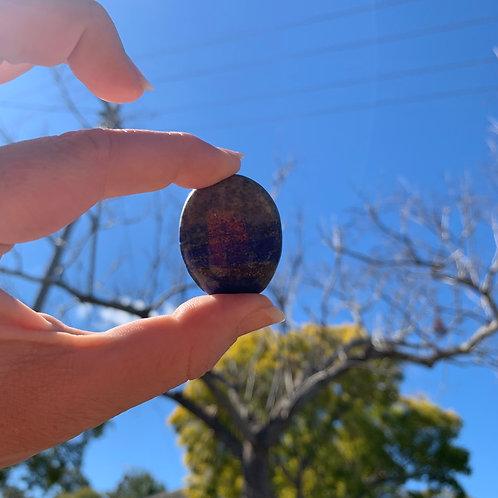 Palm Stone - Lapis Lazuli
