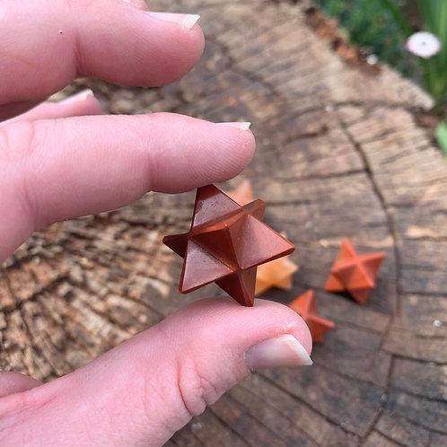 Small Merkaba - Red Jasper