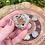 Thumbnail: Small Rainbow Moonstone Orgonite Heart