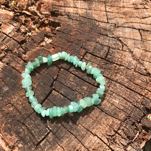 Gemstone Chip Aventurine Bracelet