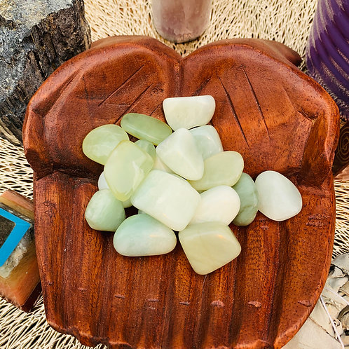 Tumbled Stone - New Jade