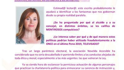 PLENO MAYO 2019.- LOS FANTASMAS DEL PASADO