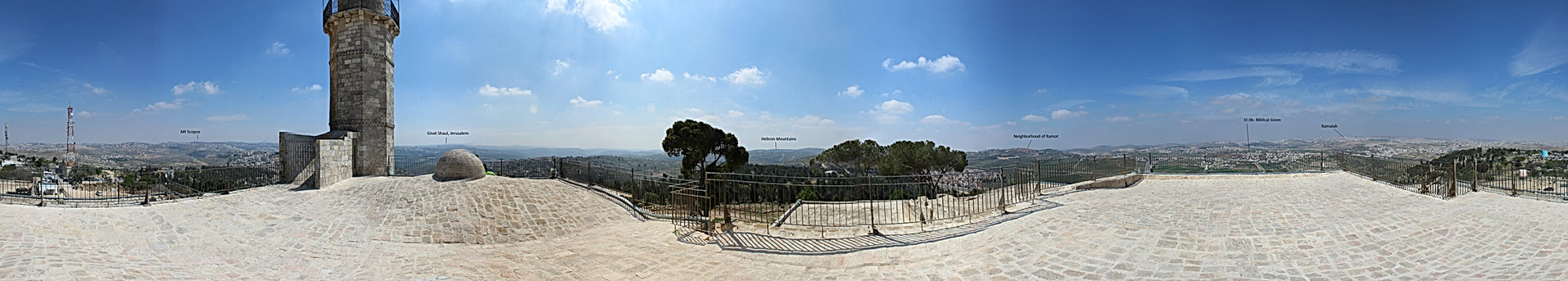 kever shmuel full panorama  with labels(