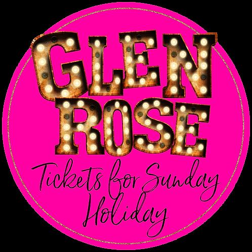 Glen Rose Holiday Sunday Ticket