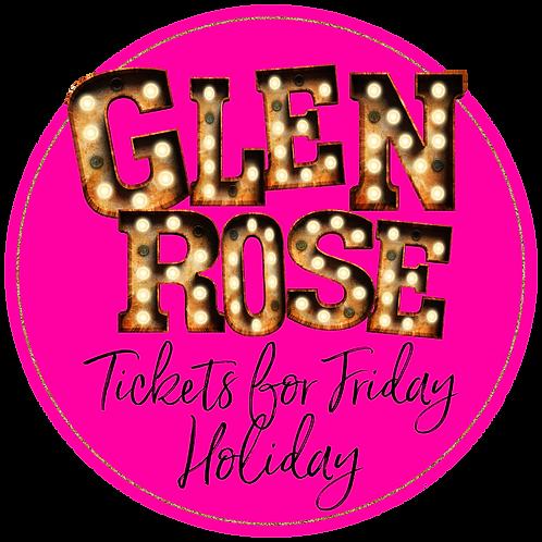 Glen Rose Holiday Friday Ticket