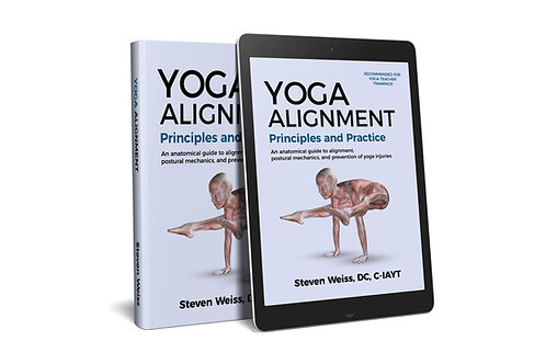 Yoga Alignment   Principles and Practice  - color pdf version digital