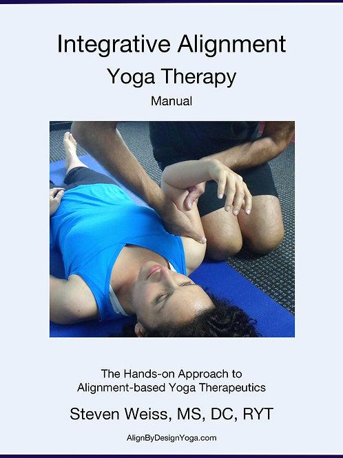 Integrative Alignment Yoga Therapy Manual, 2014 - pdf digital